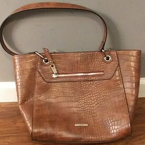 Chaps Brown Shoulder Bag